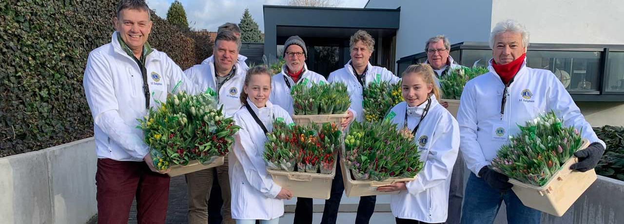 Tulpenverkoop voor goede doelen - Lions Zutphen