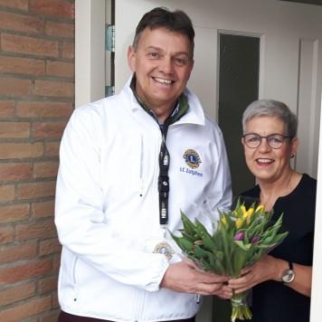Tulpenverkoop voor het goede doel Lions Zutphen